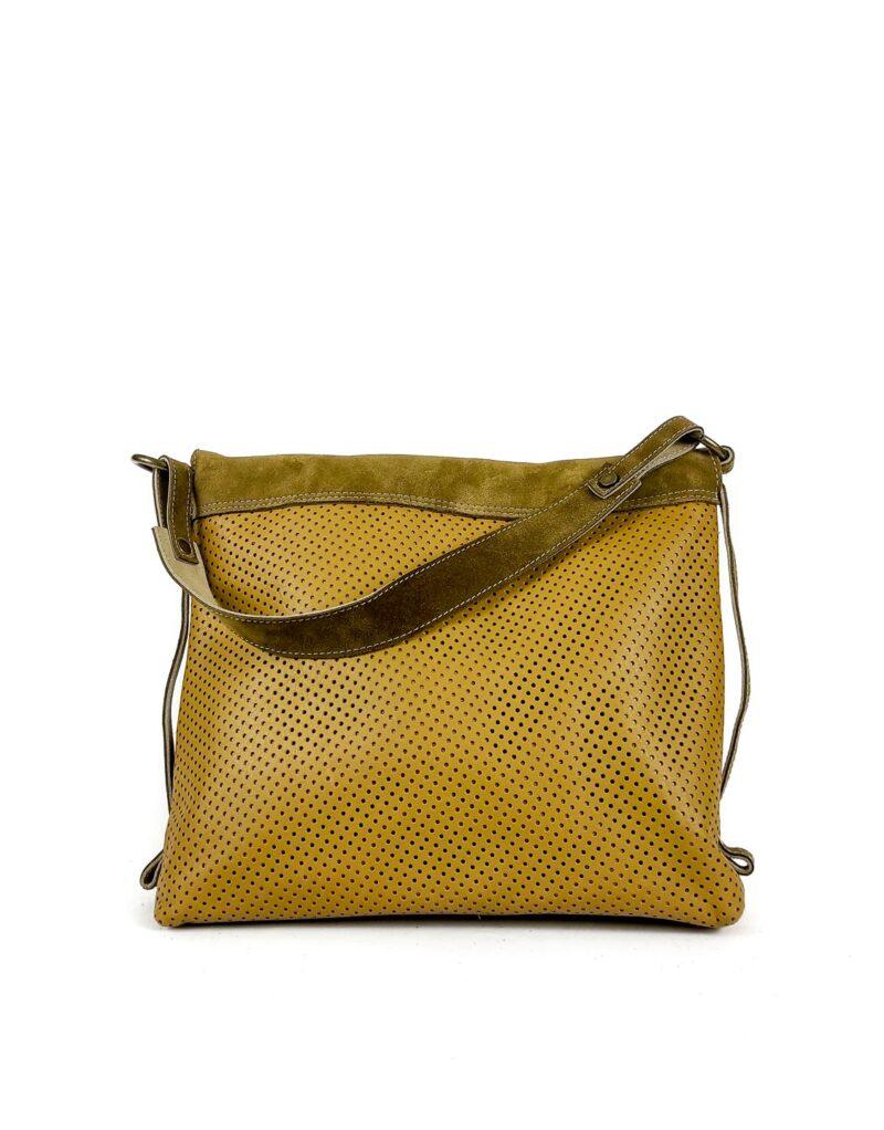 Amano – borsa in pelle traforata Lucille-144947