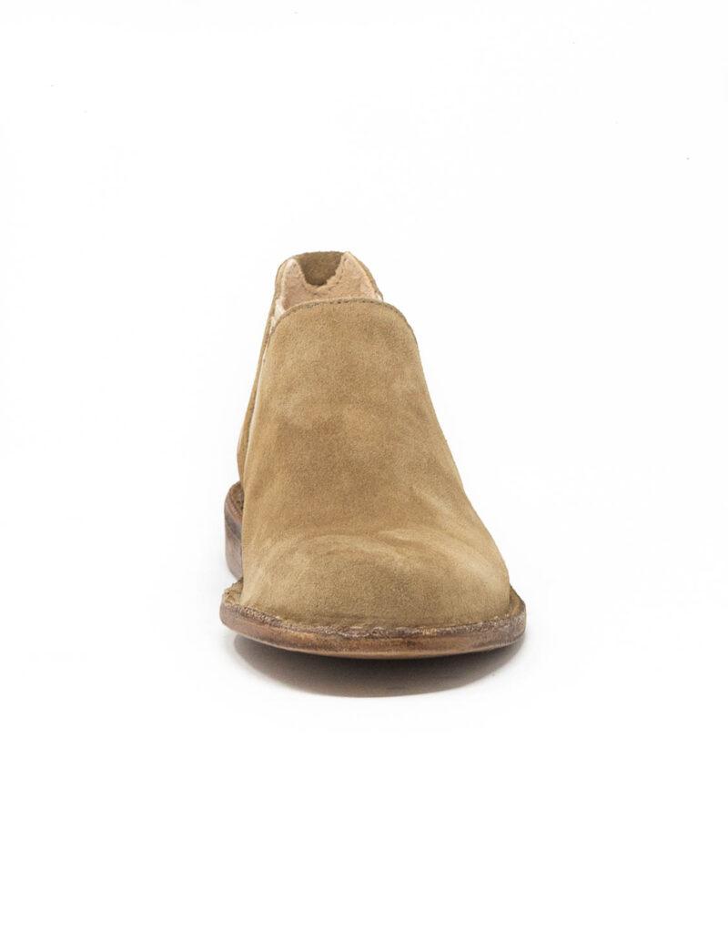 Astorflex - chelsea boot donna in pelle scamosciata Elflex sughero