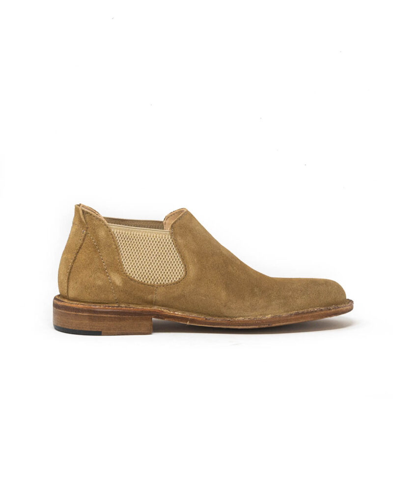 Astorflex – chelsea boot donna in pelle scamosciata Elflex sughero-0518