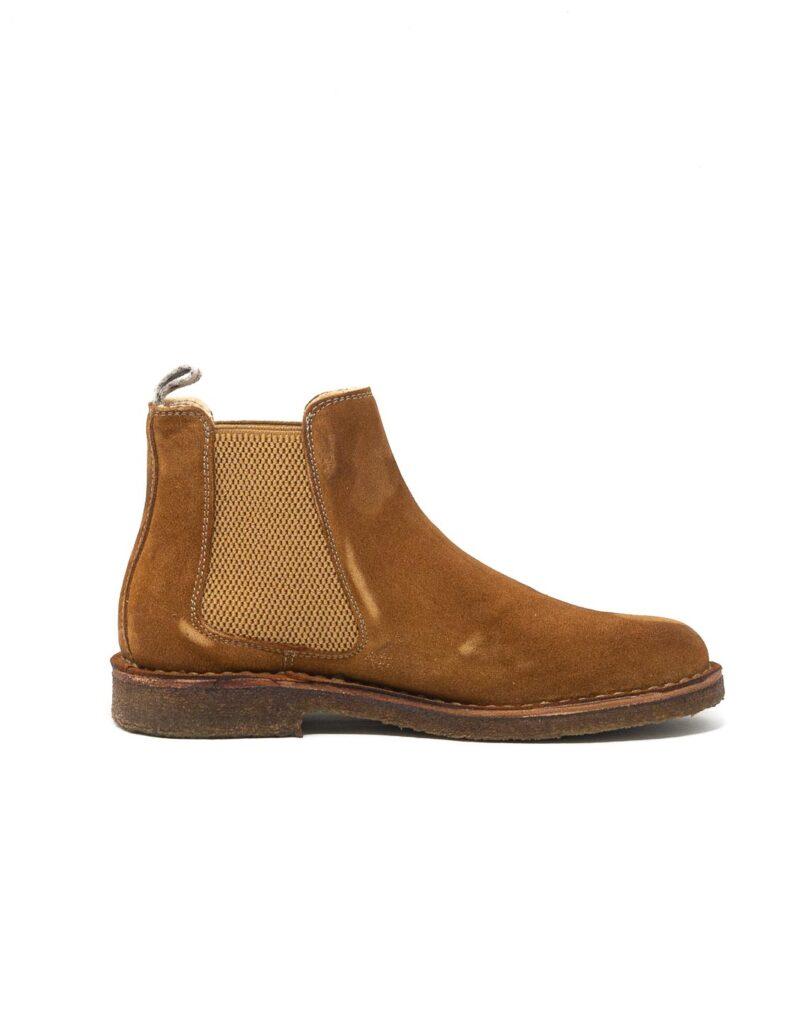 Astorflex – chelsea boot donna scamosciato bridgeflex couro-8547