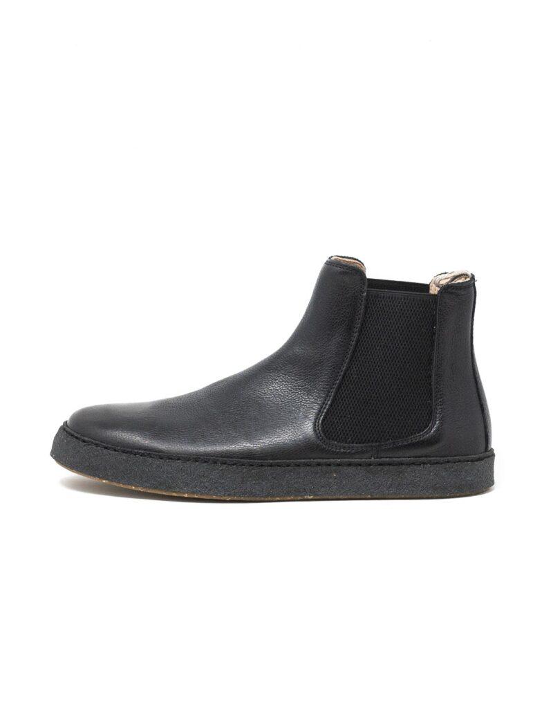 Astorflex - chelsea boot uomo in pelle Rolflex nero
