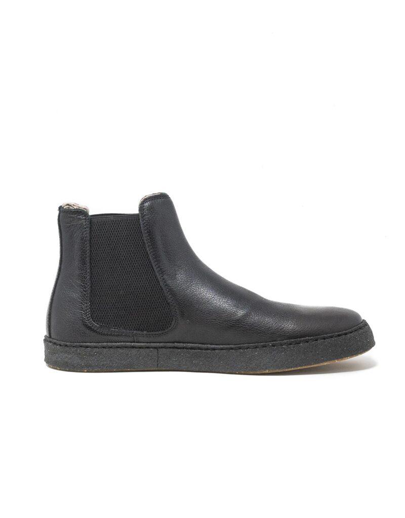 Astorflex – chelsea boot uomo in pelle Rolflex nero-8592