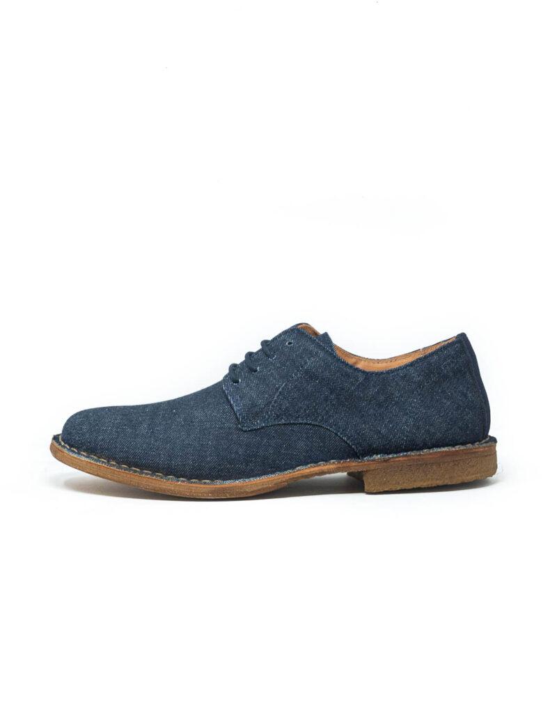 Astorflex – derby uomo in tela jeans Streetflex-0554