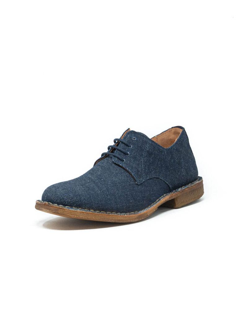 Astorflex - derby uomo in tela jeans Streetflex