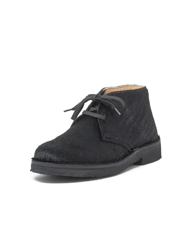 Astorflex - desert boot donna in cavallino wellflex nero