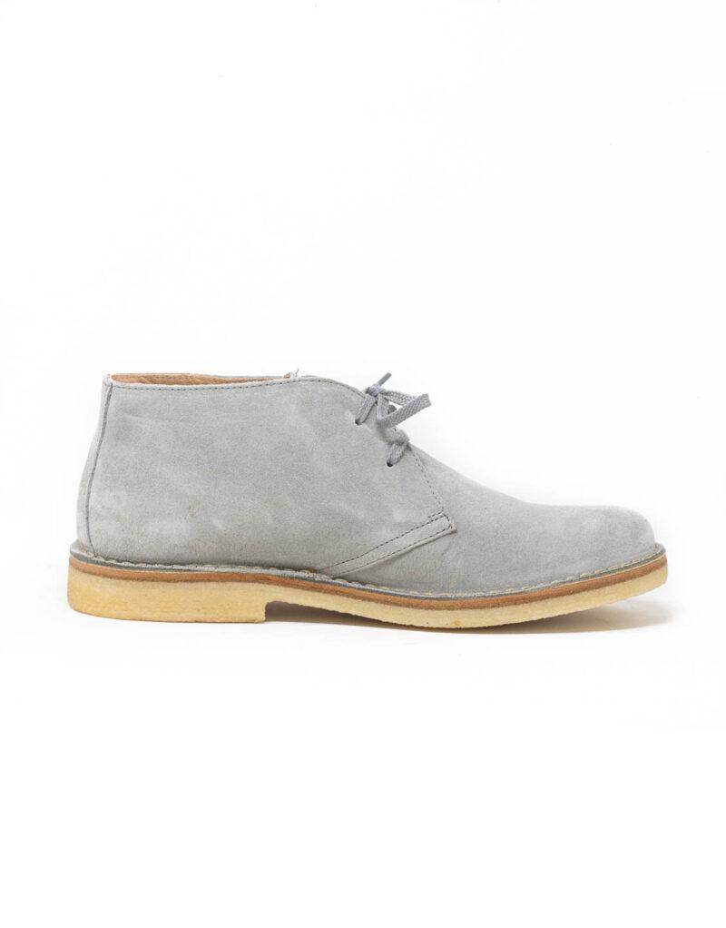 Astorflex – desert boot scamosciato Greenflex grigio-0463