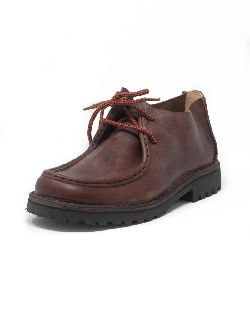 Astorflex mocassino in pelle beenflex dark chestnut 2