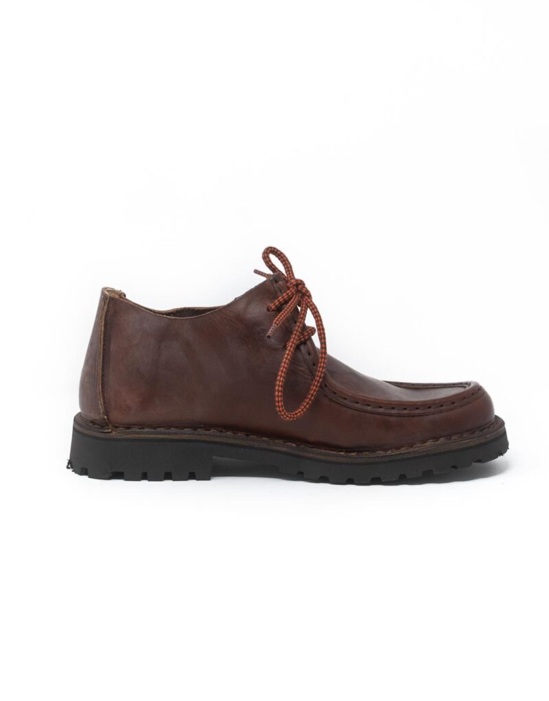 Astorflex mocassino in pelle beenflex dark chestnut 4