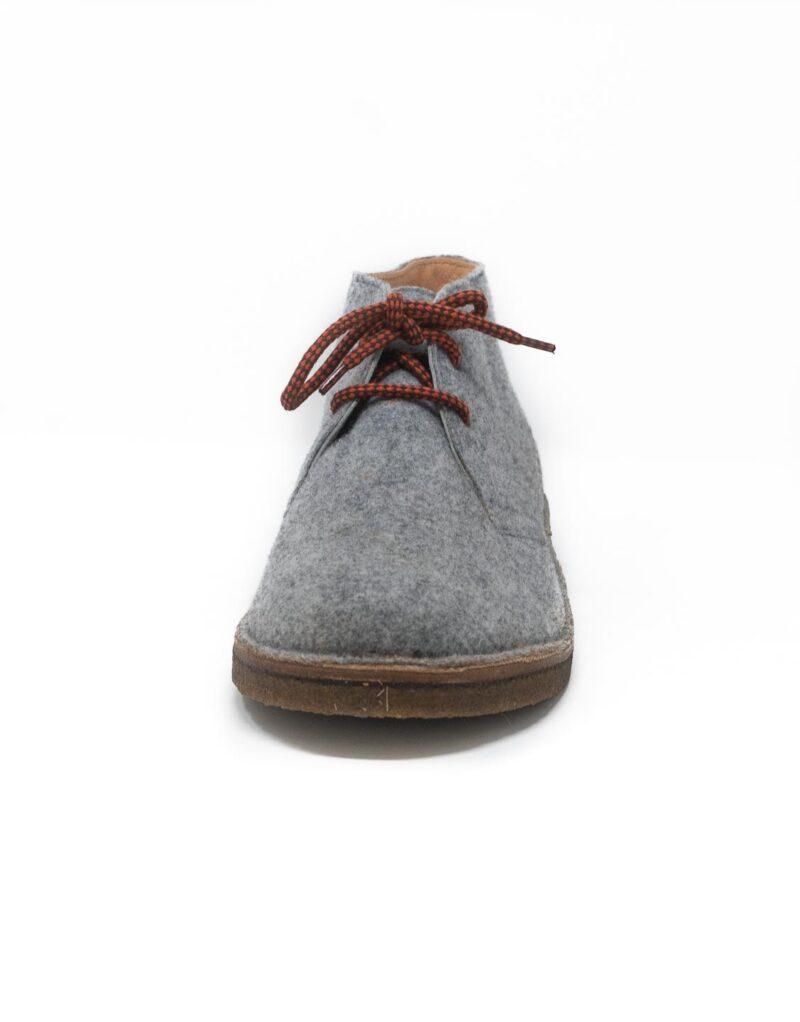 Astorflex polacchino in lana cotta greenflex grigio 3