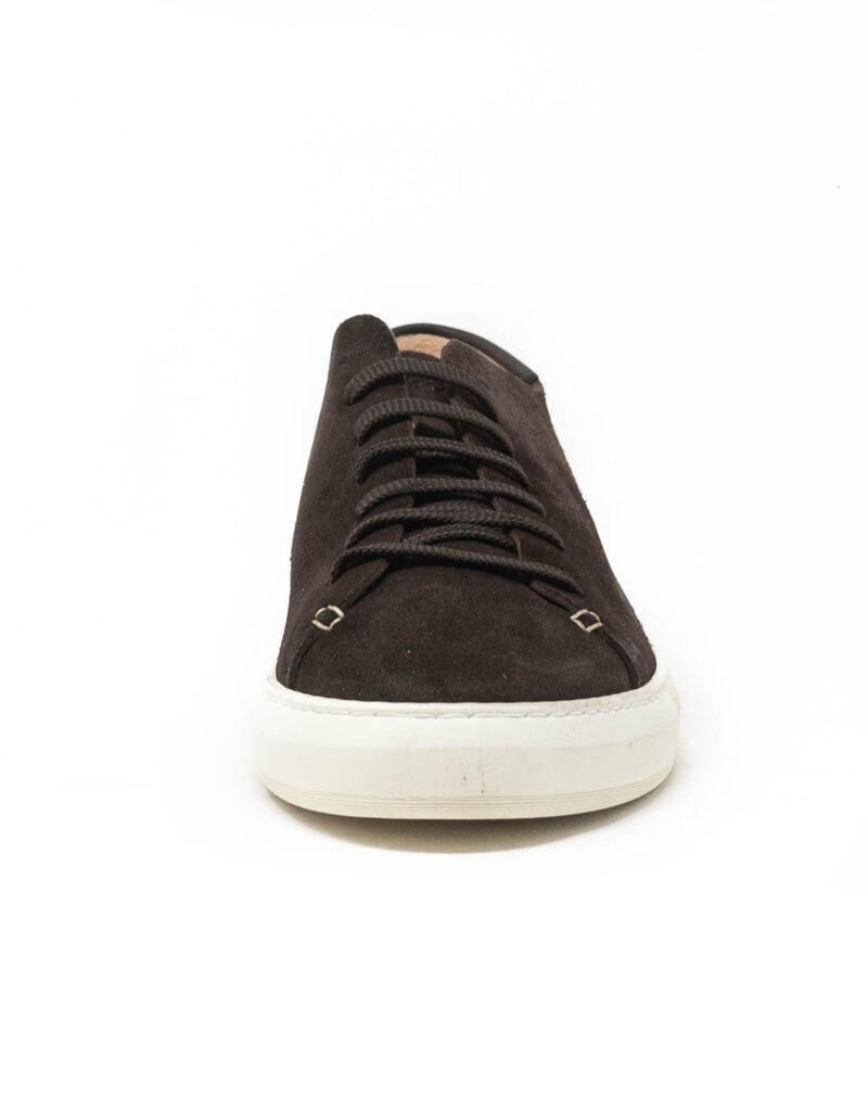 Astorflex – sneaker uomo in pelle scamosciata Softflex dark chestnut-0504
