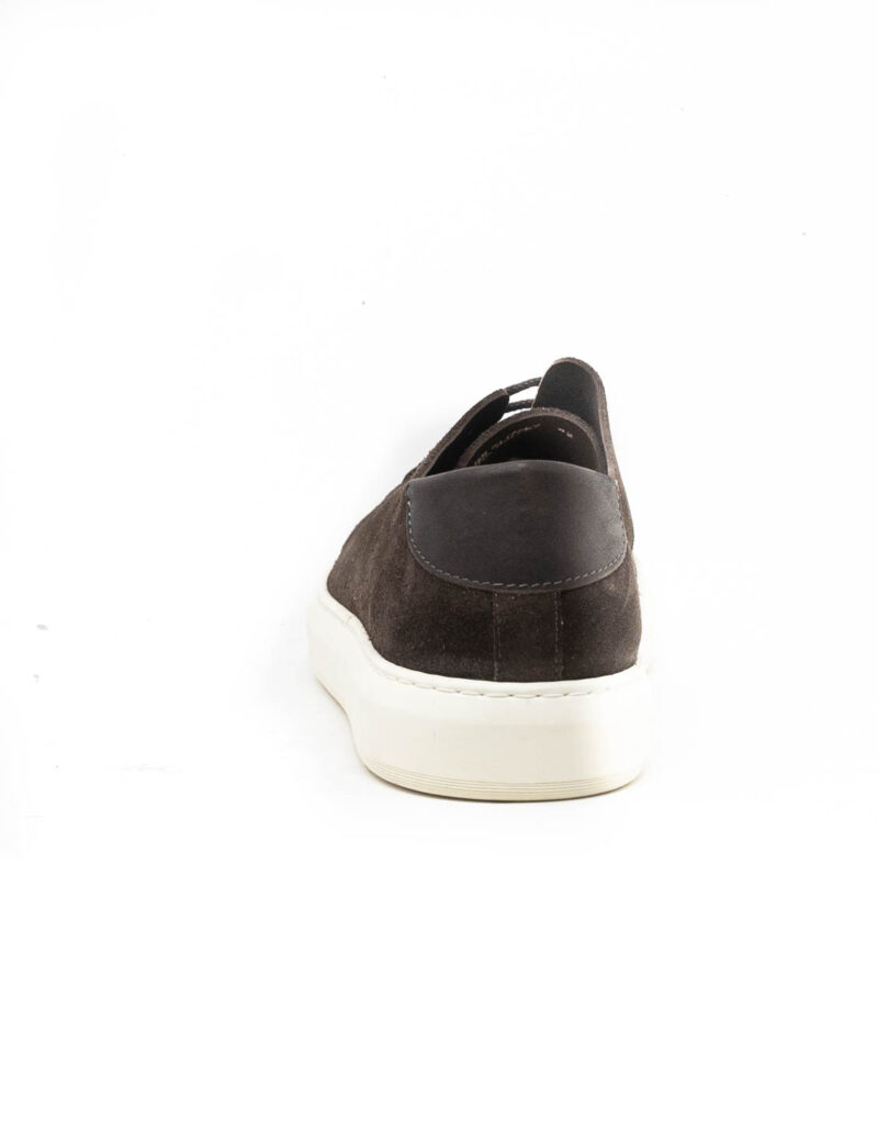 Astorflex – sneaker uomo in pelle scamosciata Softflex dark chestnut-0506