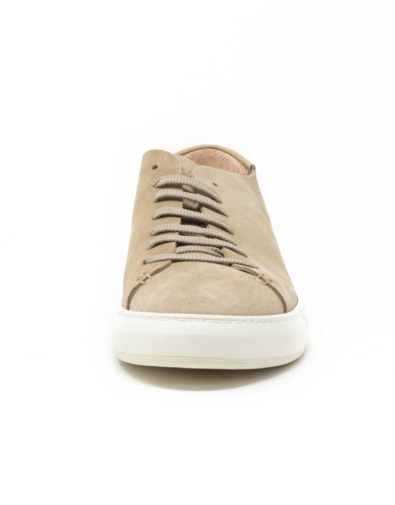 Astorflex - sneaker uomo in pelle scamosciata Softflex sabbia