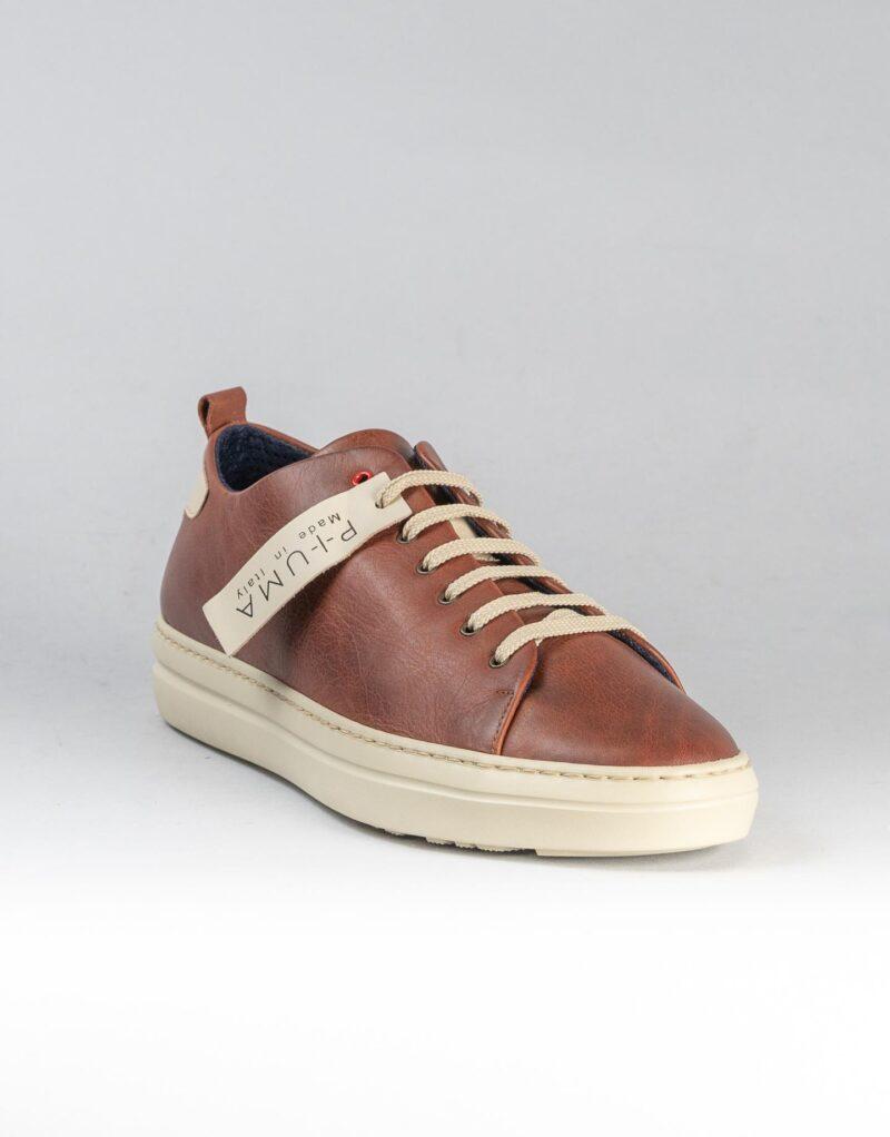 Piuma Uno -sneaker in pelle color ruggine – estate 2020-2384