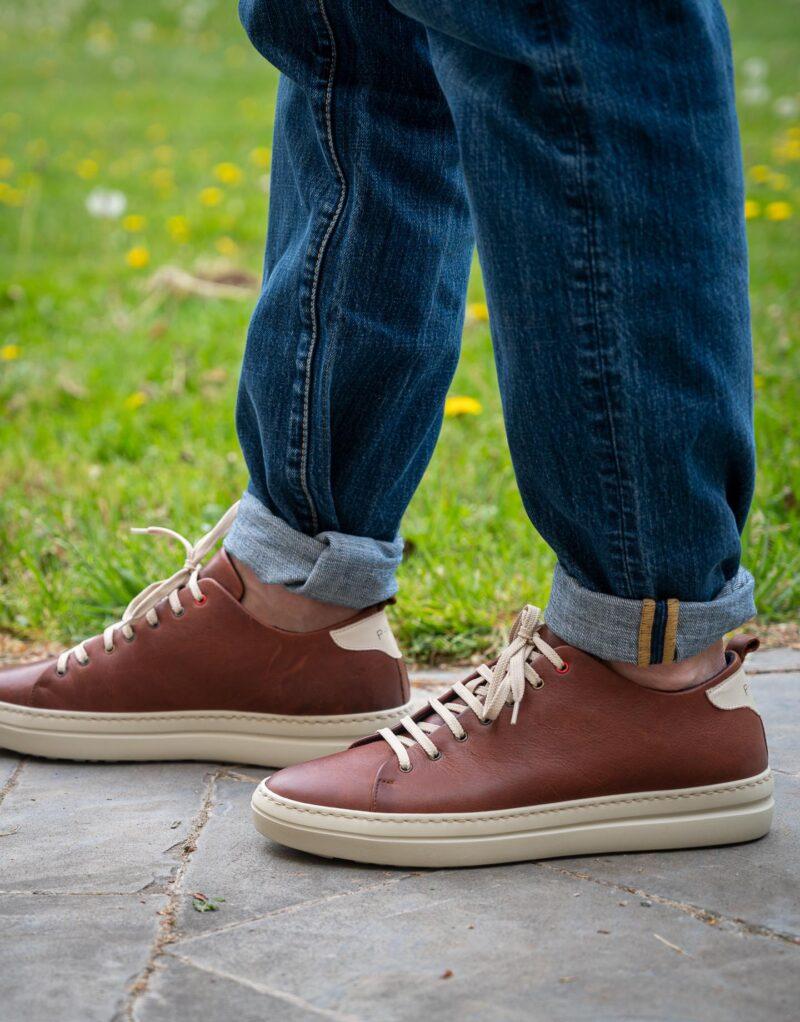 Piuma Uno -sneaker in pelle colore ruggine – estate 2020-2830