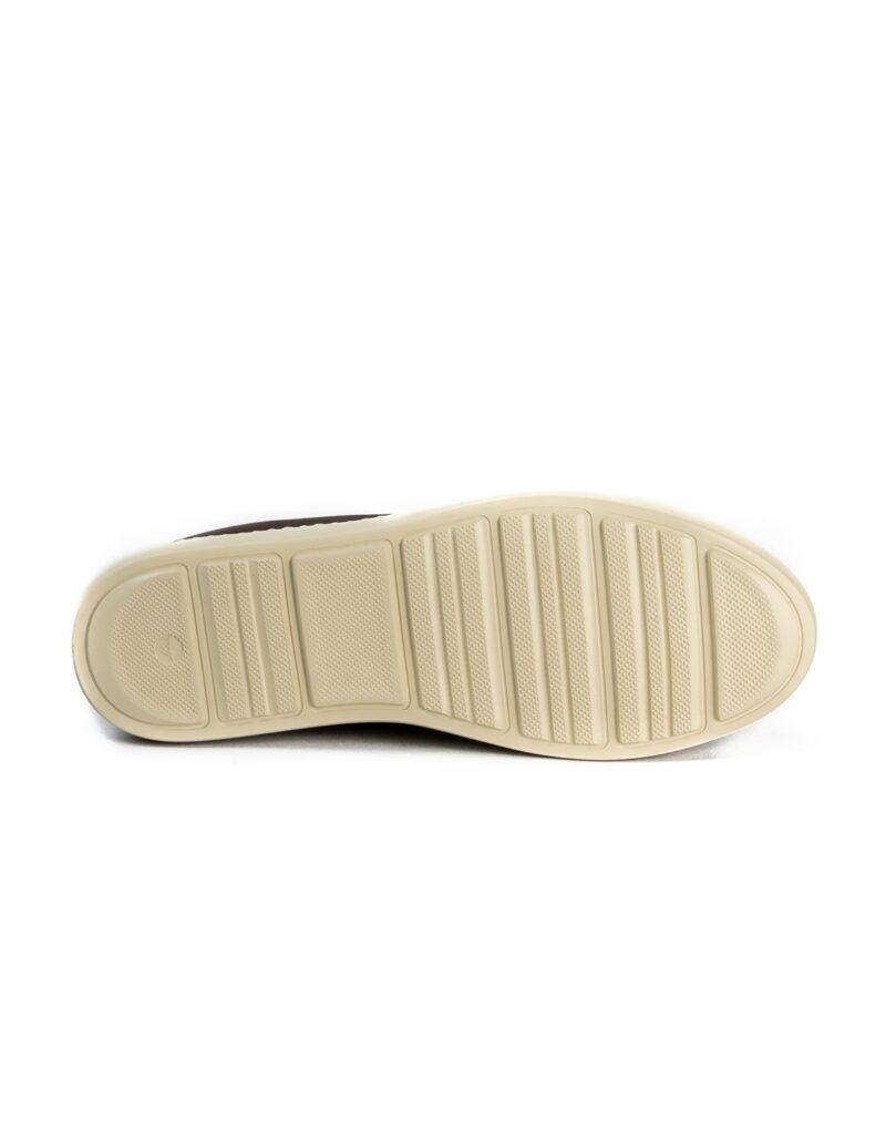 Piuma Uno -sneaker in pelle dark chestnut