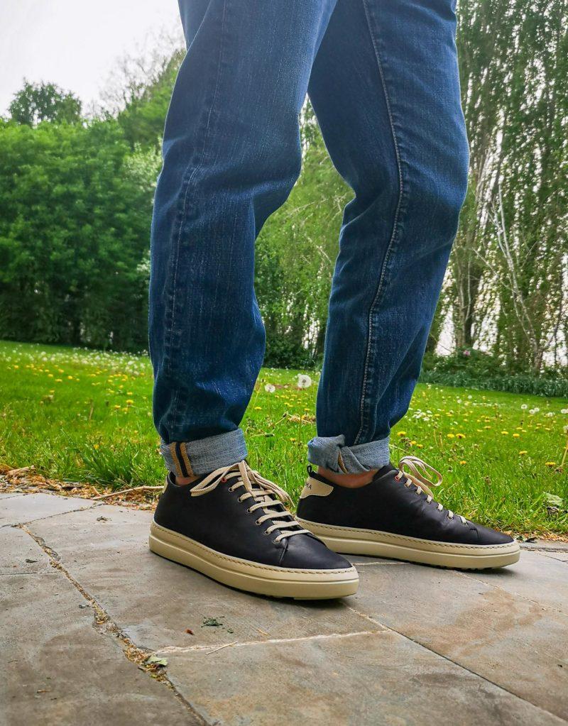 Piuma Uno -sneaker in pelle nero – estate 2020-171559