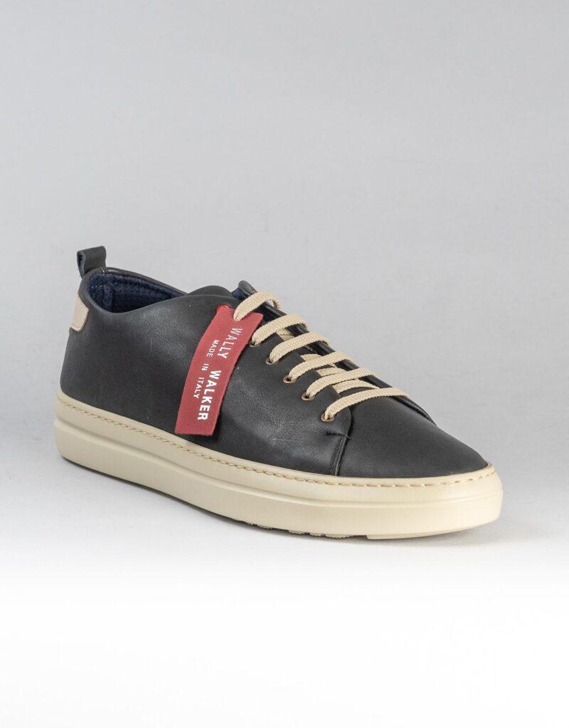 Piuma Uno -sneaker in pelle nero – estate 2020-2374