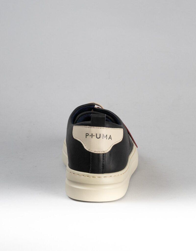 Piuma Uno -sneaker in pelle nero – estate 2020-2376