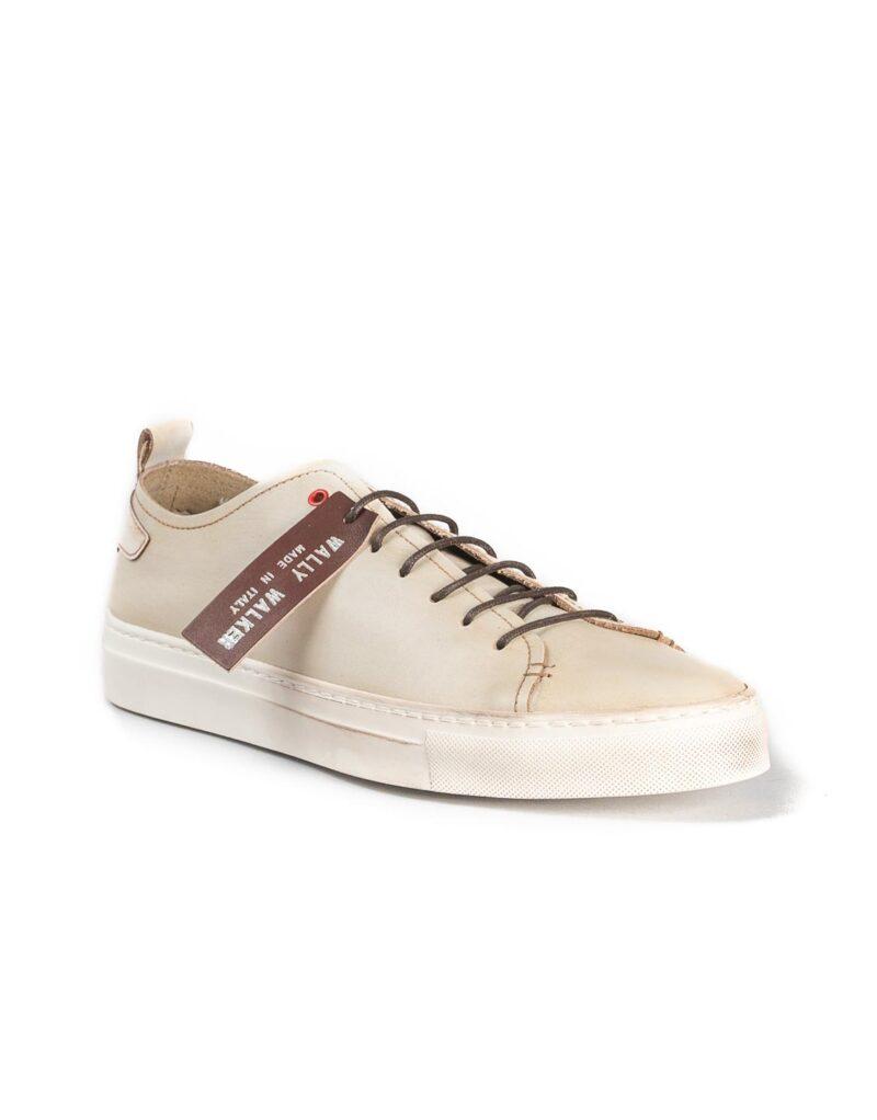 Prima - sneaker in pelle bianco