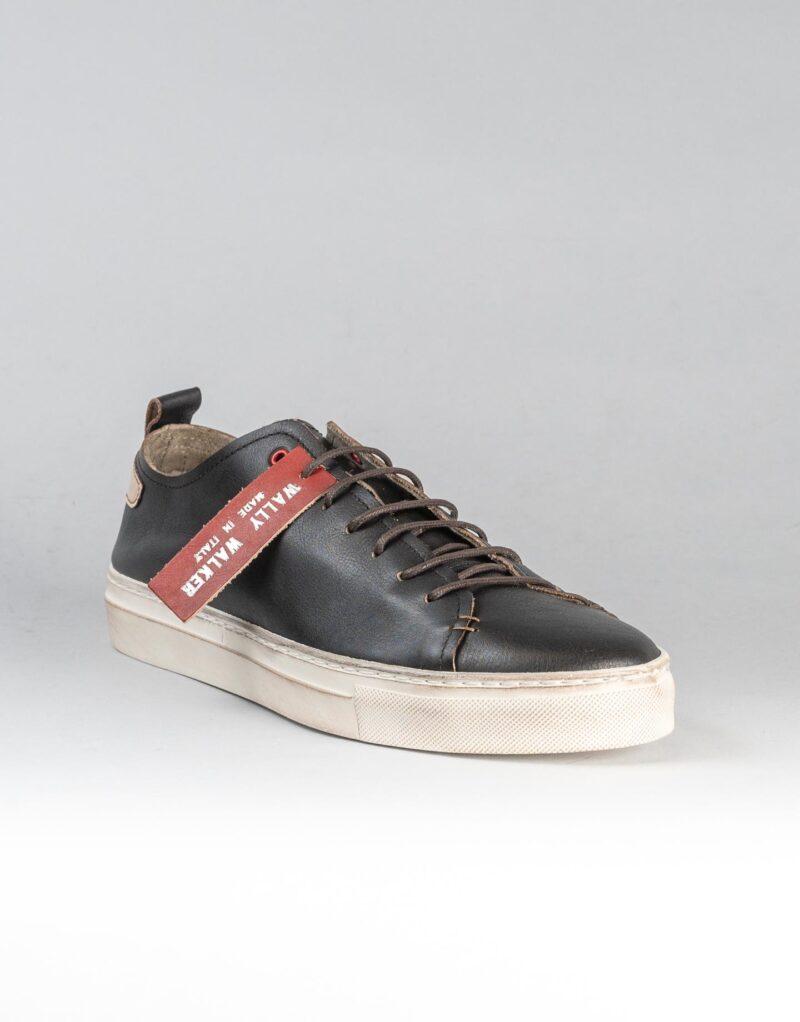Prima – sneaker in pelle nera – estate 2020-2299