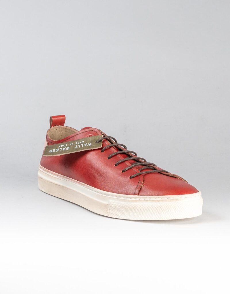 Prima – sneaker in pelle rosso – estate 2020-2304