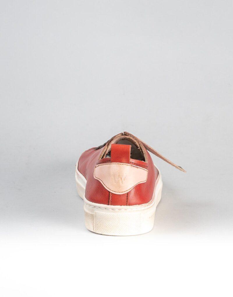 Prima – sneaker in pelle rosso – estate 2020-2306