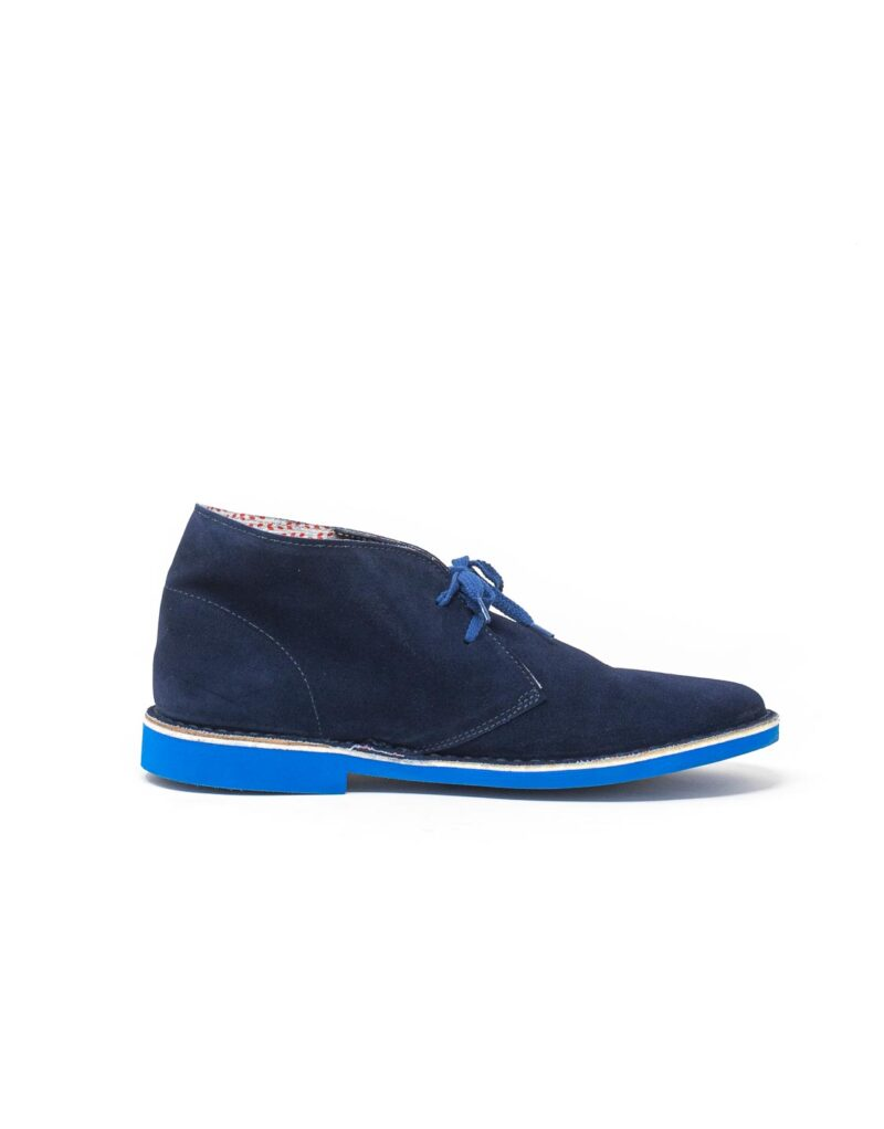 Wally Walker – desert boot Chukka S Color blu-9751