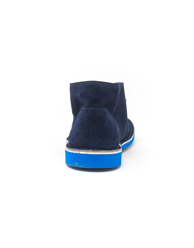 Wally Walker - desert boot Chukka S Color blu
