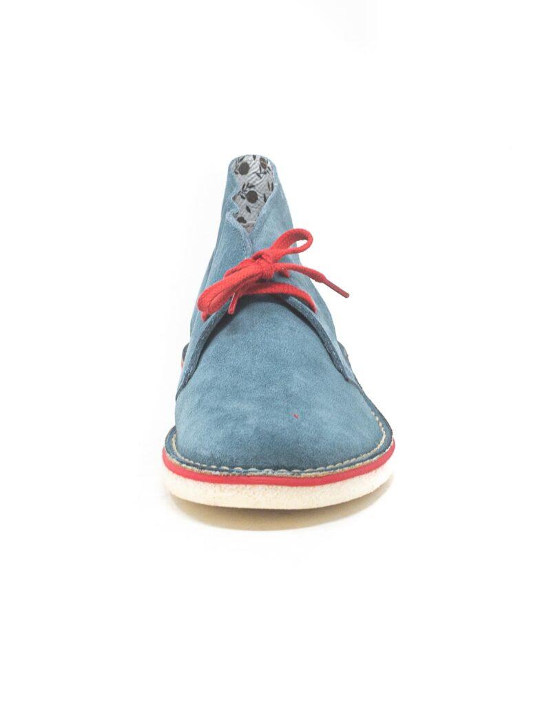 Wally Walker - desert boot in pelle scamosciata Chukka Color Rolio