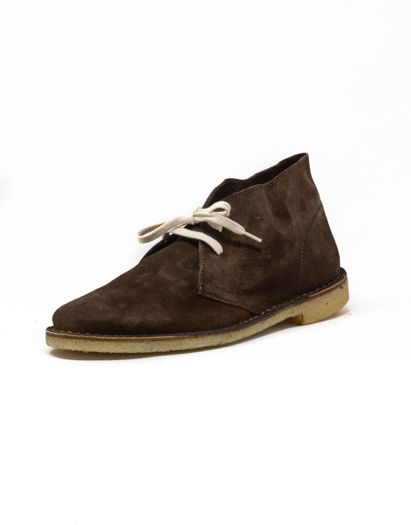 Wally Walker - desert boot in pelle scamosciata Chukka Jey caffè