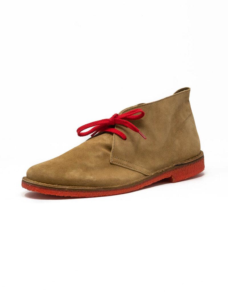 Wally Walker - desert boot in pelle scamosciata Chukka Jey sughero