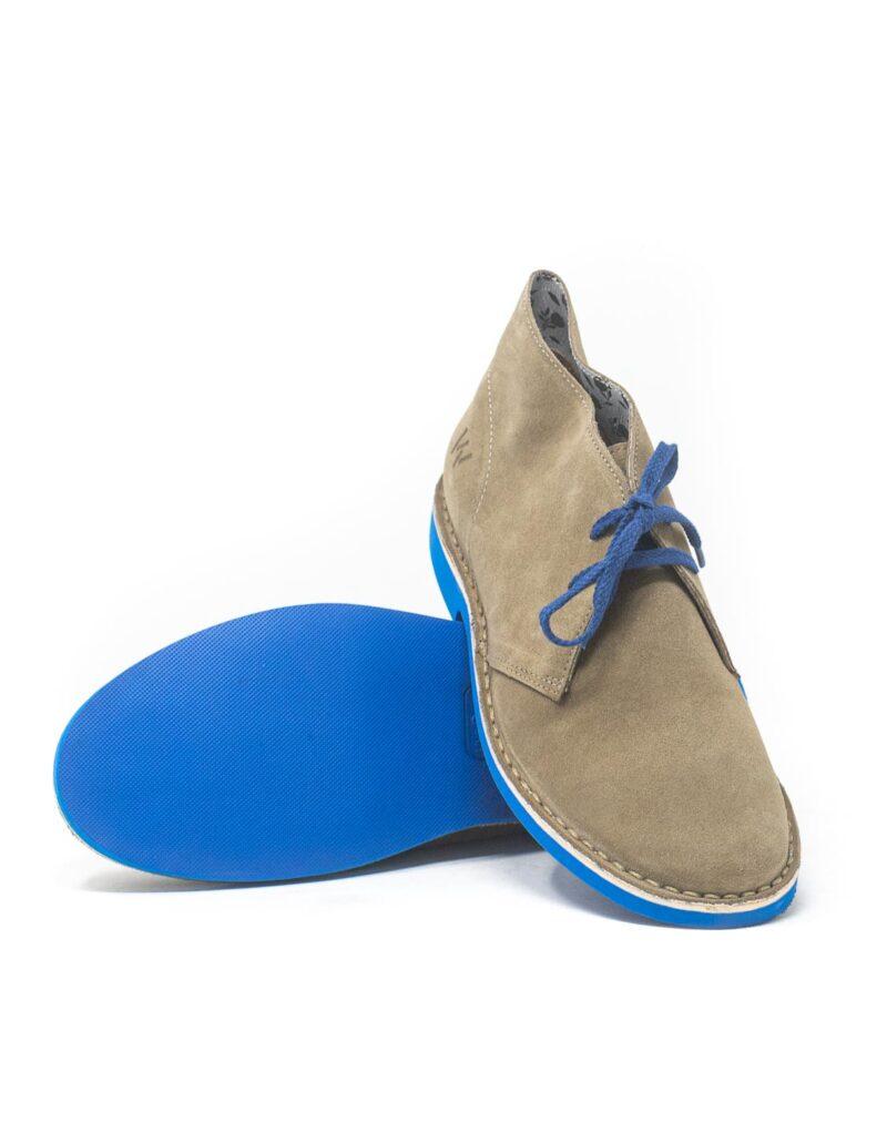 Wally Walker - desert boot in pelle scamosciata Chukka S Color Mouse