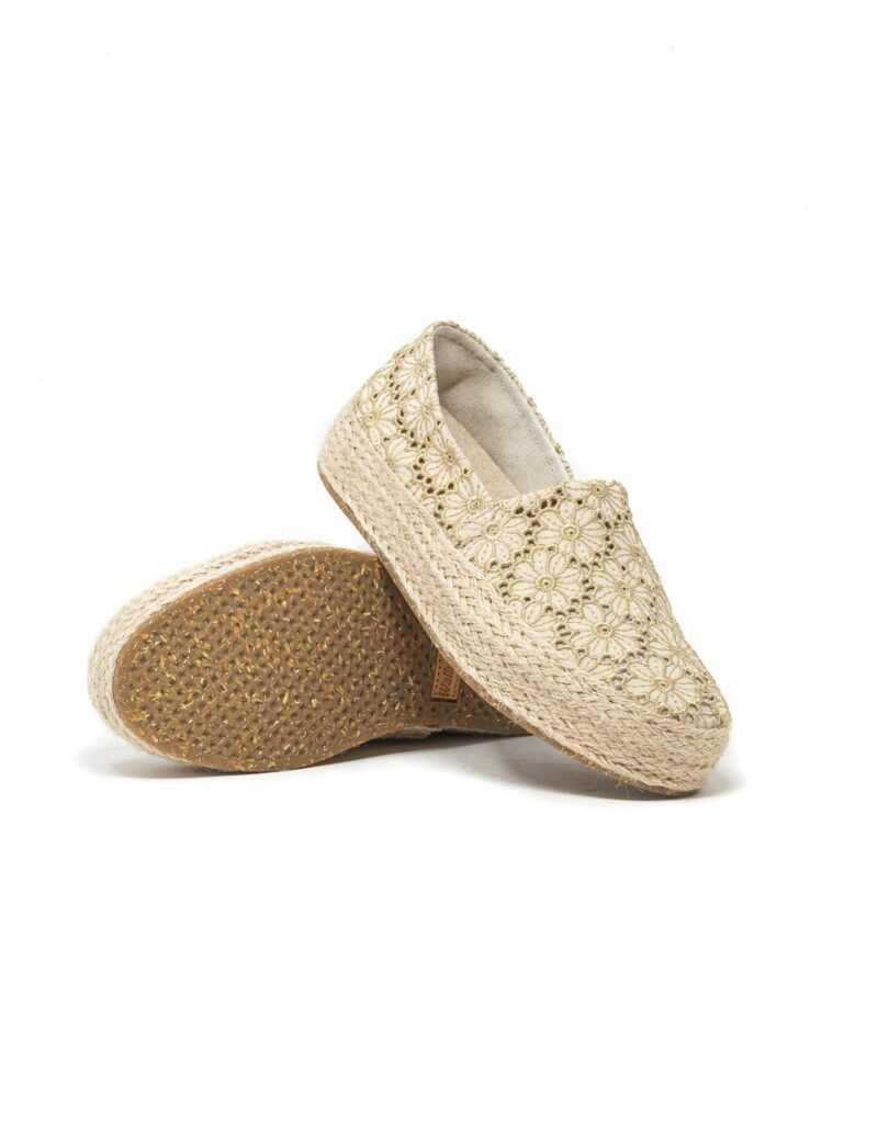 Wally Walker - espadrillas donna Saint Tropez beige