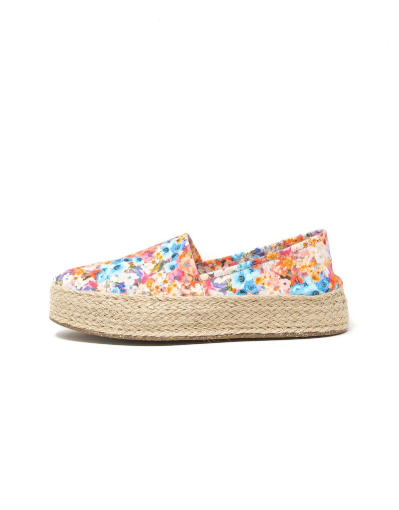 Wally Walker – espadrillas donna Saint Tropez bianco fiore-2633