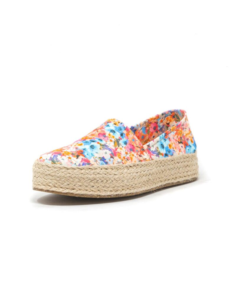 Wally Walker – espadrillas donna Saint Tropez bianco fiore-2634