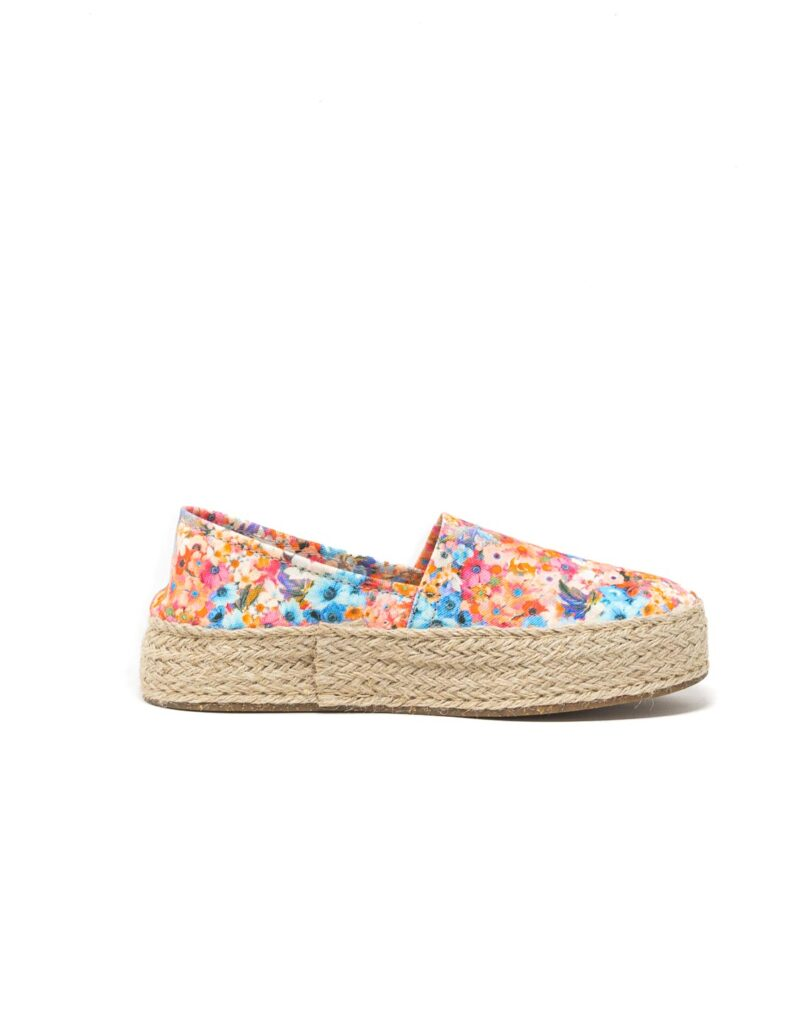 Wally Walker – espadrillas donna Saint Tropez bianco fiore-2636