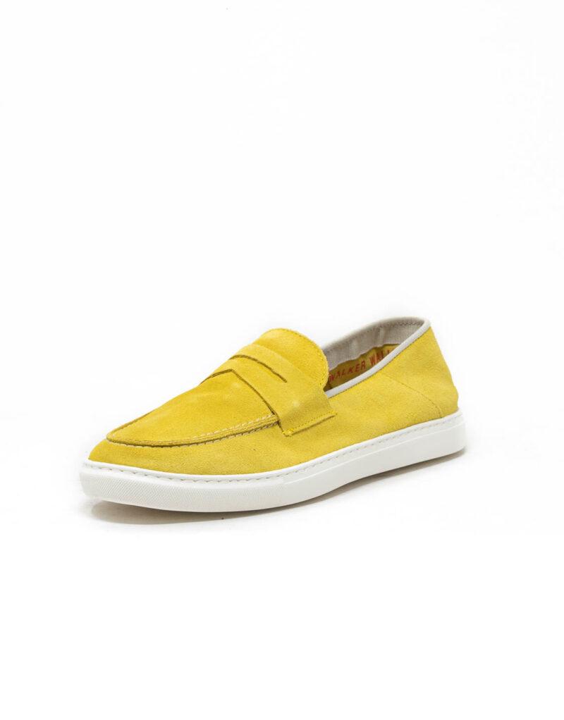 Wally Walker – mocassino scamosciato Taormina giallo limone-5703