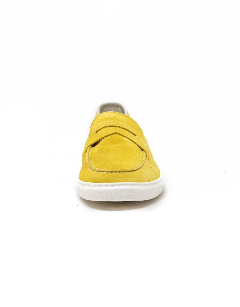 Wally Walker – mocassino scamosciato Taormina giallo limone-5704