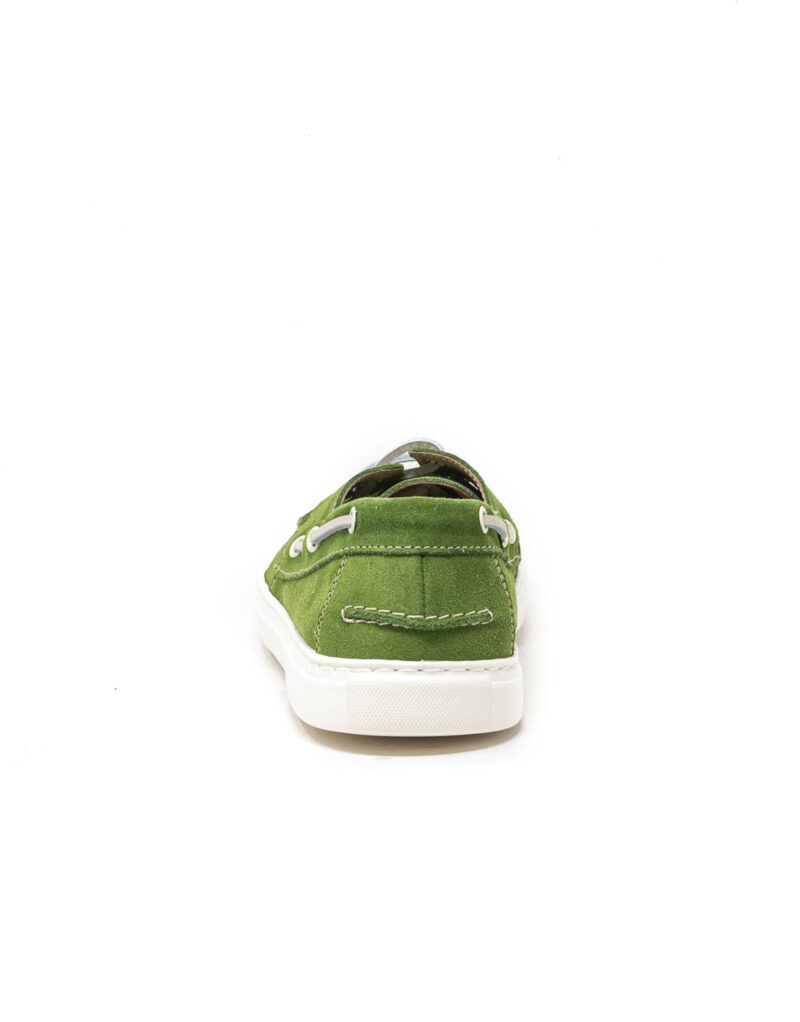 Wally Walker - mocassino scamosciato barca Portofino colore verde