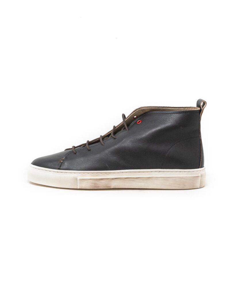 Wally Walker – sneaker alta in pelle Jump nero-2853