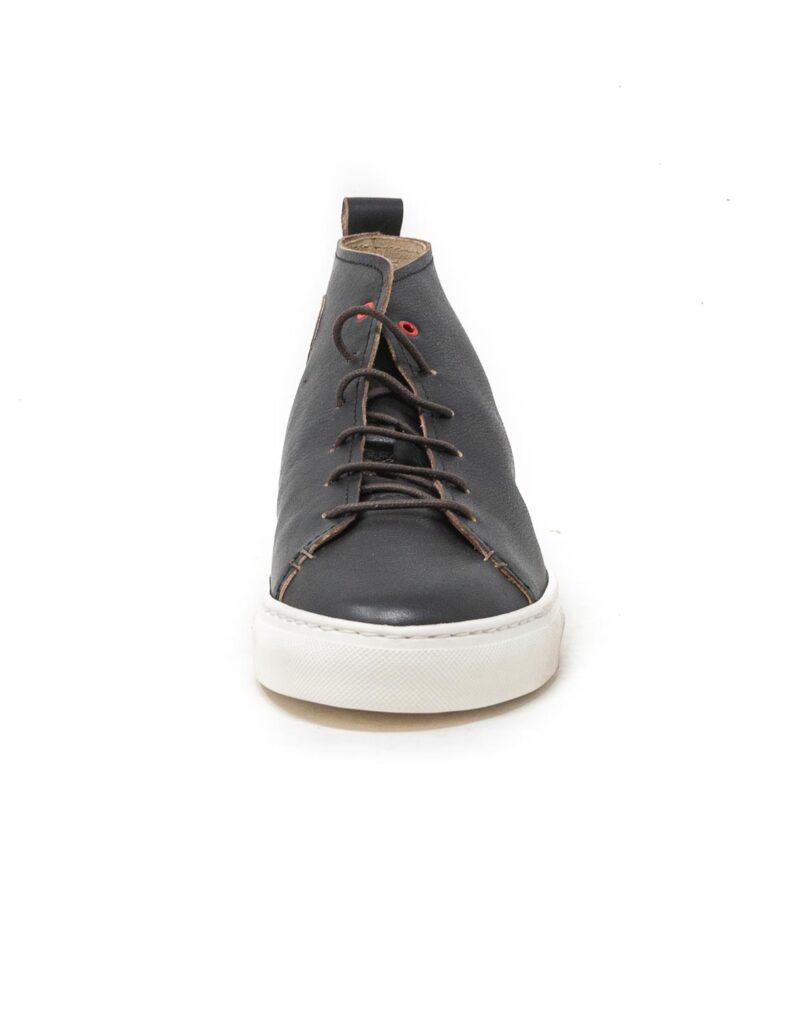 Wally Walker – sneaker alta in pelle Jump nero-2855