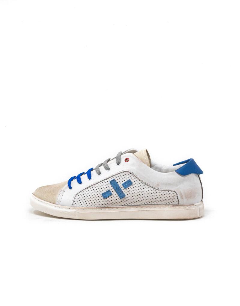 Wally Walker - sneaker piuma uno bianco