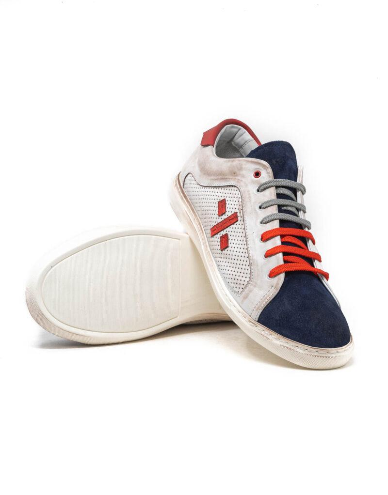 Wally Walker - sneaker piuma uno blu