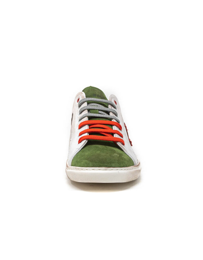 Wally Walker - sneaker piuma uno verde