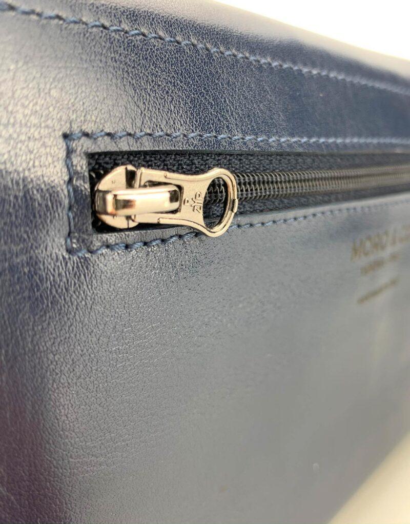 portafoglio in pelle concia vegetale blu by Moroeco-6013