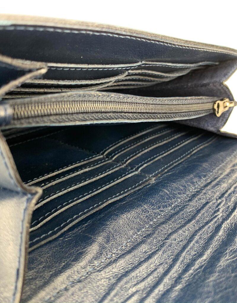 portafoglio in pelle concia vegetale blu by Moroeco-6017