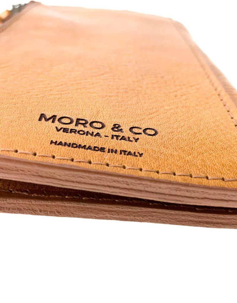 portafoglio in pelle concia vegetale gialla by Moroeco-5838