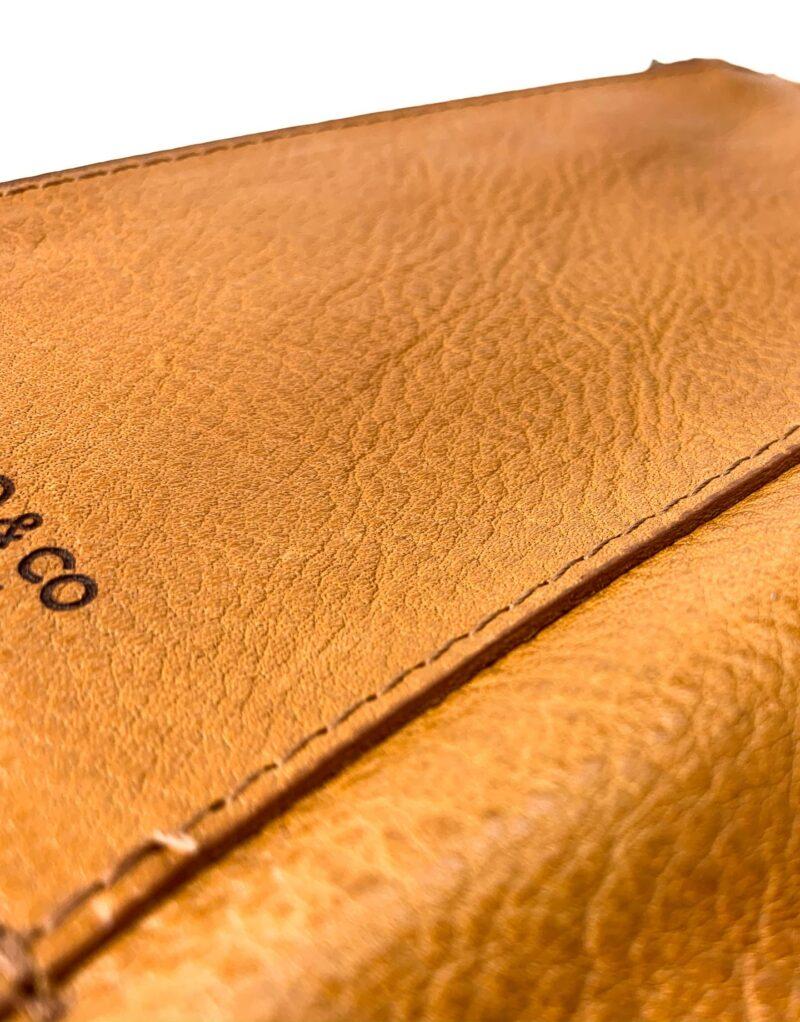 portafoglio in pelle concia vegetale gialla by Moroeco-5843