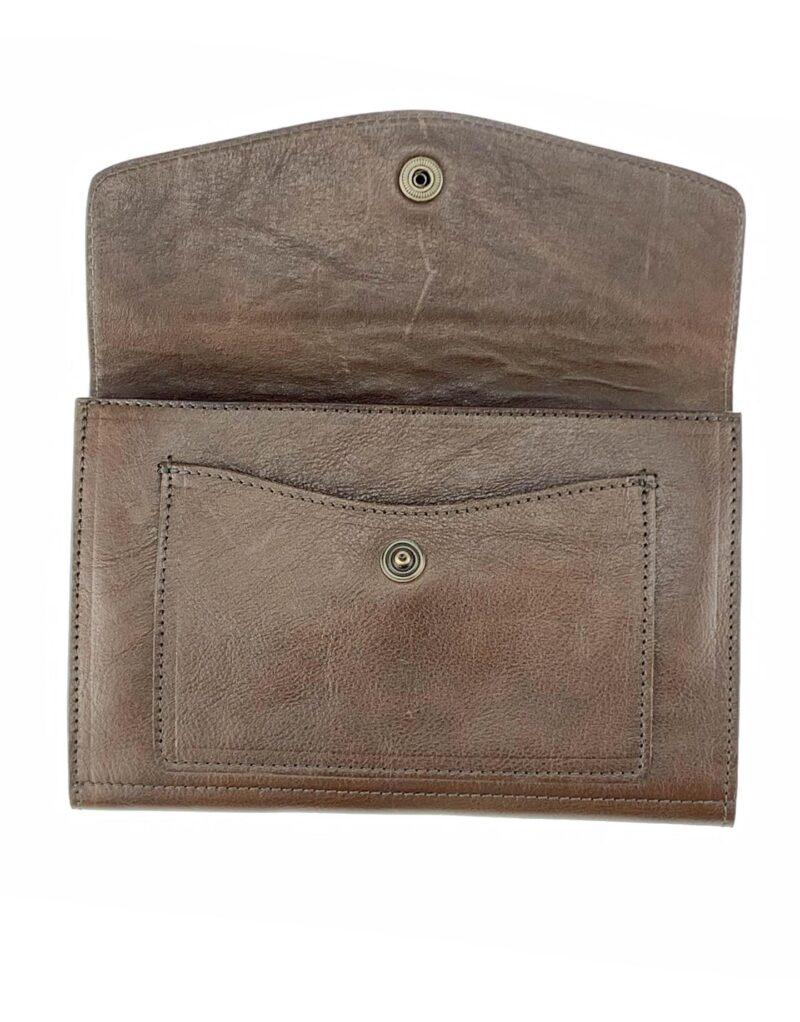 portafoglio in pelle concia vegetale testa di moro by Moroeco-5949