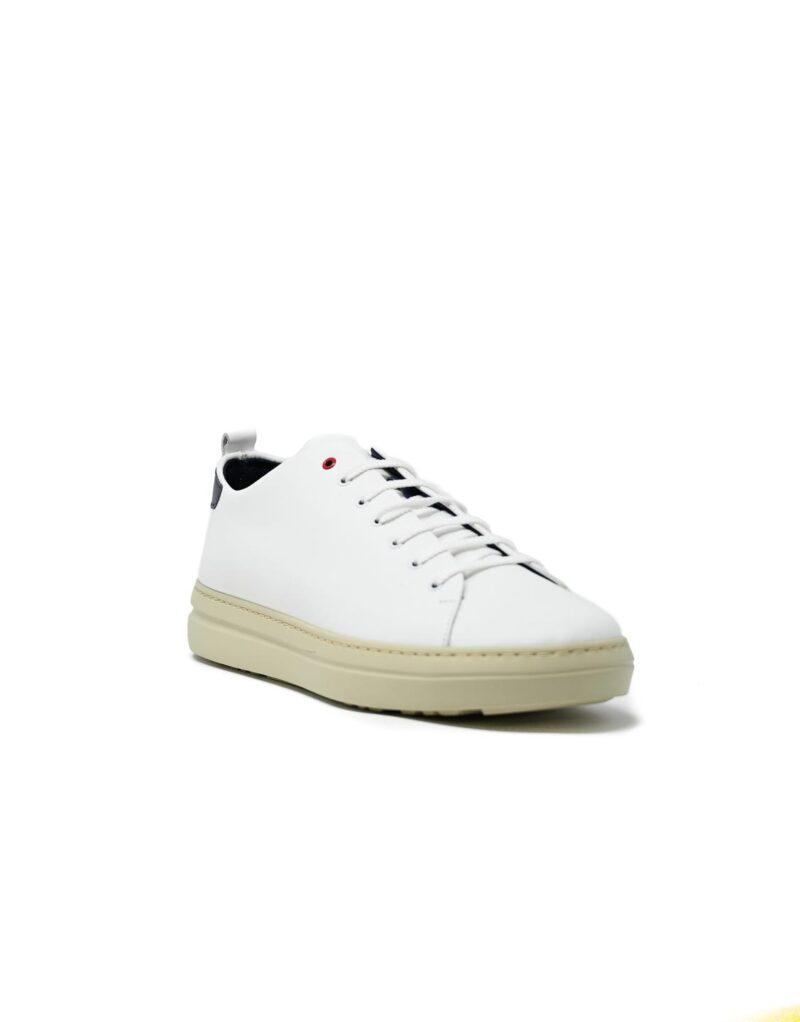 sneaker Piuma in pelle bianca-5087